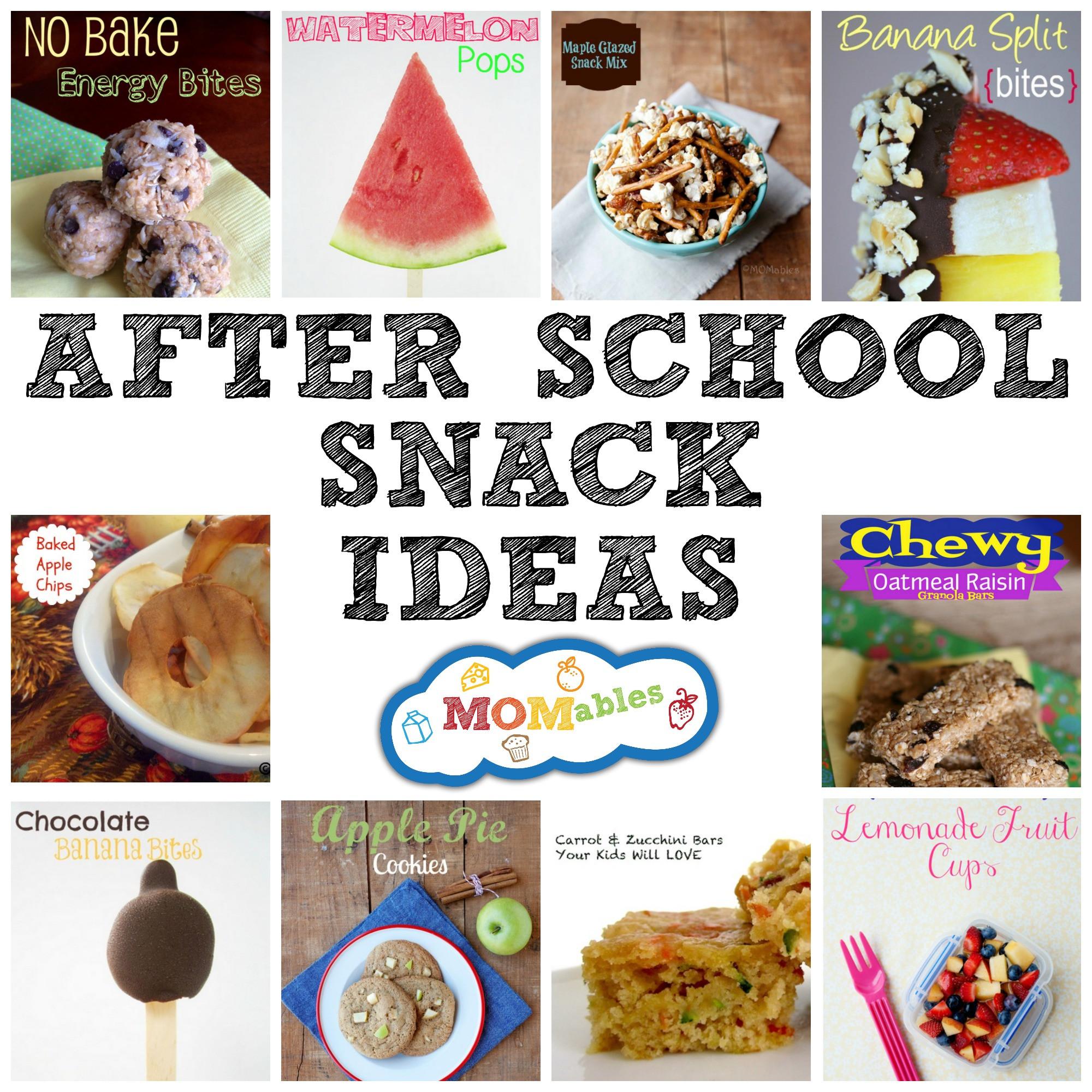 Healthy School Snacks For Kids  Healthy After School Snack Ideas for kids