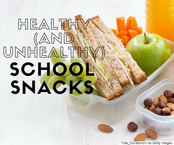 Healthy School Snacks For Kids  Healthy Store Bought Snacks For Kids Plus Easy Home Made