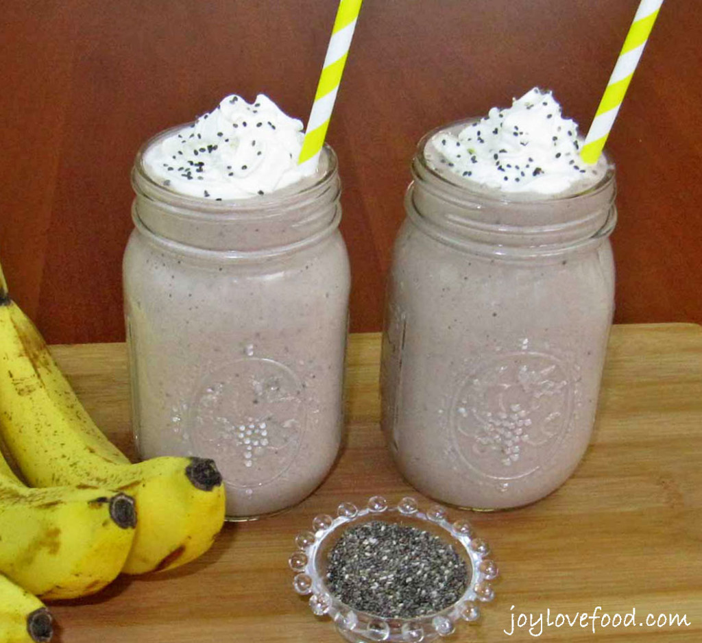 Healthy Seeds For Smoothies  Chocolate Banana Chia Seed Smoothies Joy Love Food
