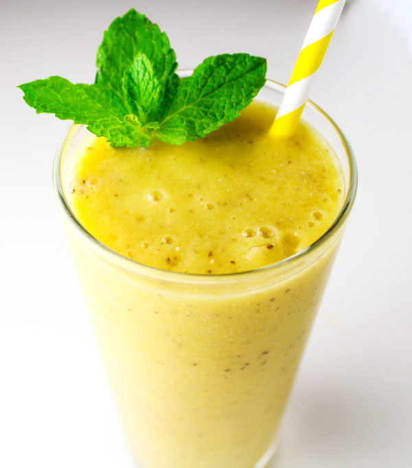 Healthy Seeds For Smoothies  Mango Mint Smoothie with Chia Seeds Tastefulventure