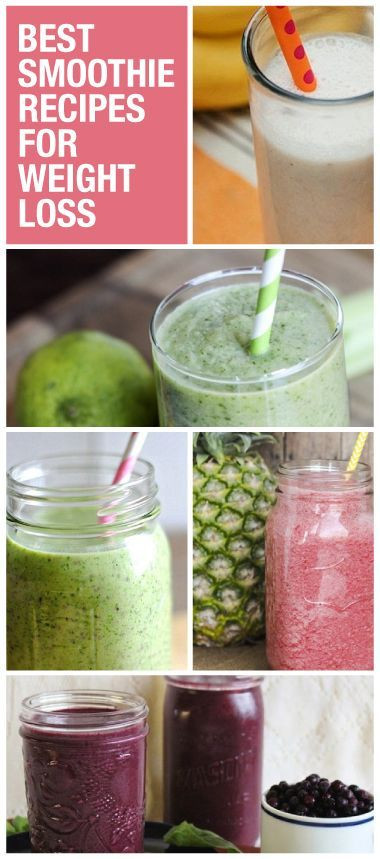 Healthy Shake Recipes For Weight Loss  Smoothie Recipes for Weight Loss