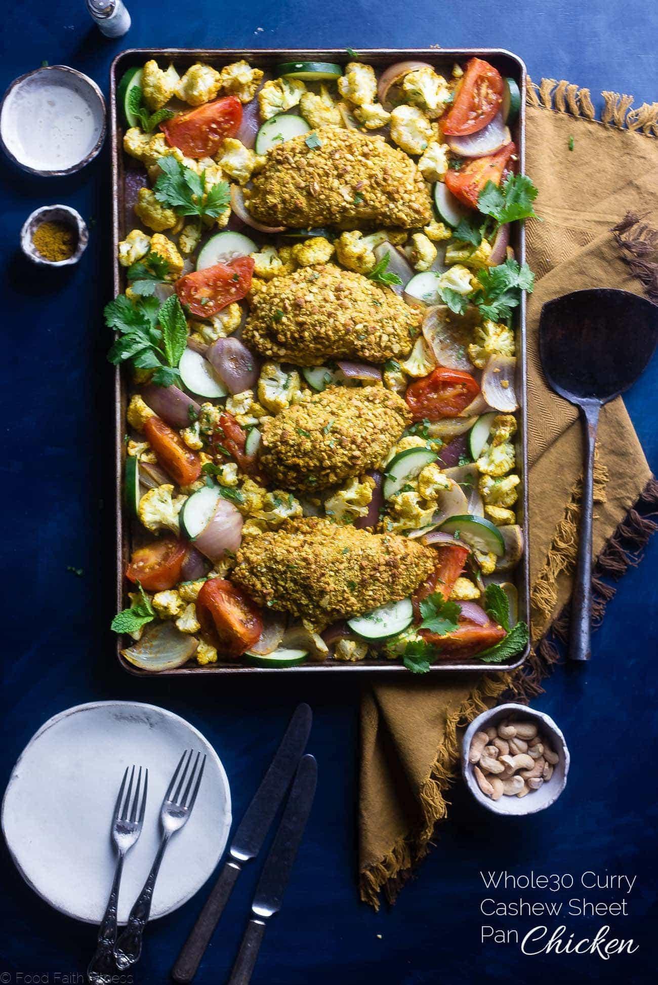 Healthy Sheet Pan Dinners  Easy Healthy Cashew Chicken Sheet Pan Dinner