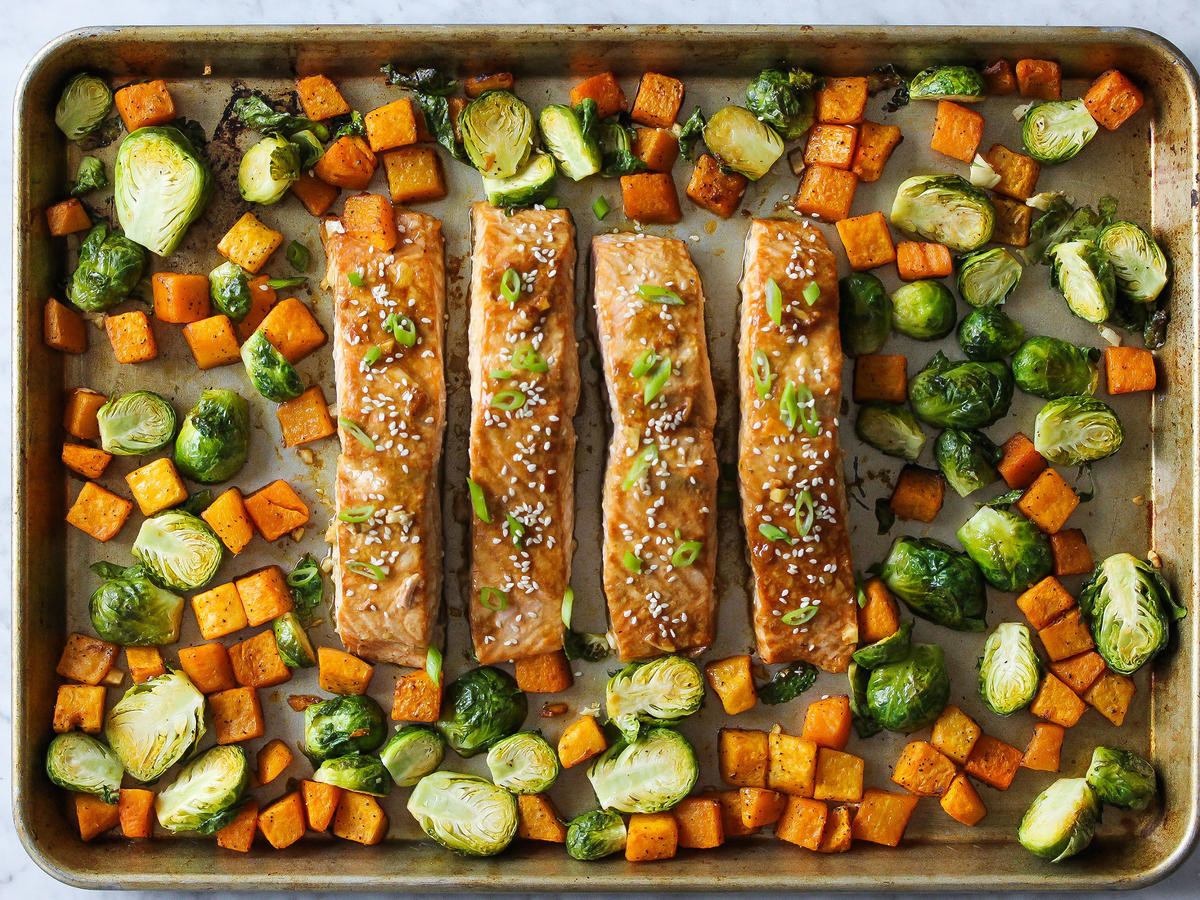 Healthy Sheet Pan Dinners  Sunday Strategist A Week of Healthy Dinners — February 13
