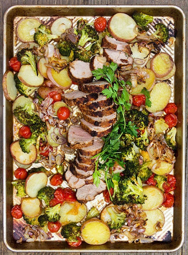 Healthy Sheet Pan Dinners  14 Easy Sheet Pan Suppers That Make Dinner and Cleanup a