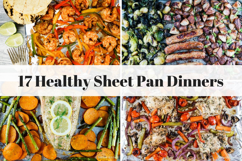 Healthy Sheet Pan Dinners  Seventeen Healthy Sheet Pan Dinners Professional Cooking