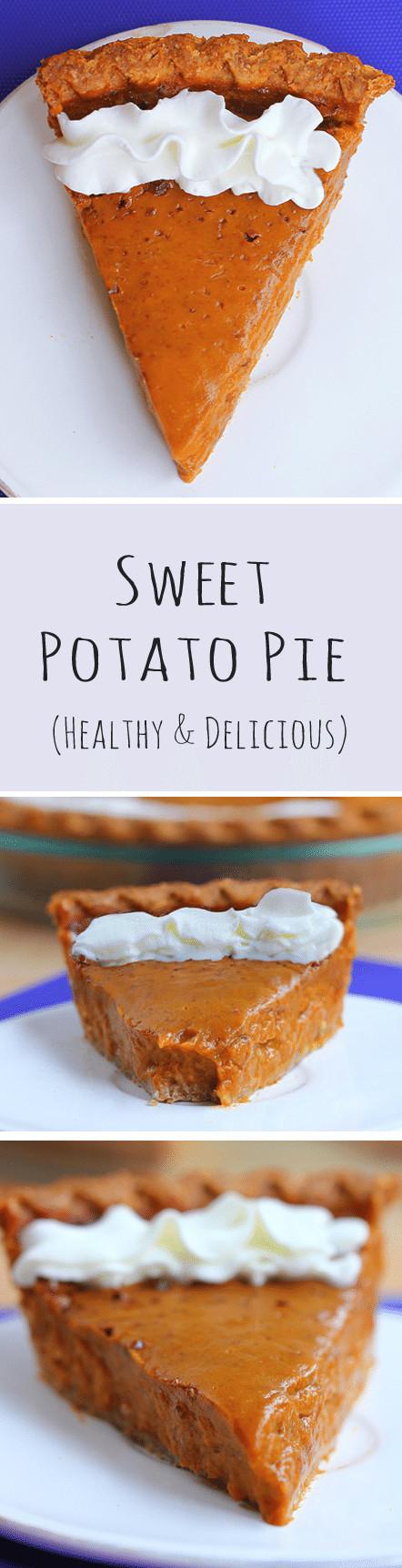 Healthy Shepherd'S Pie Recipe With Sweet Potato  Healthy Sweet Potato Pie with homemade pie crust