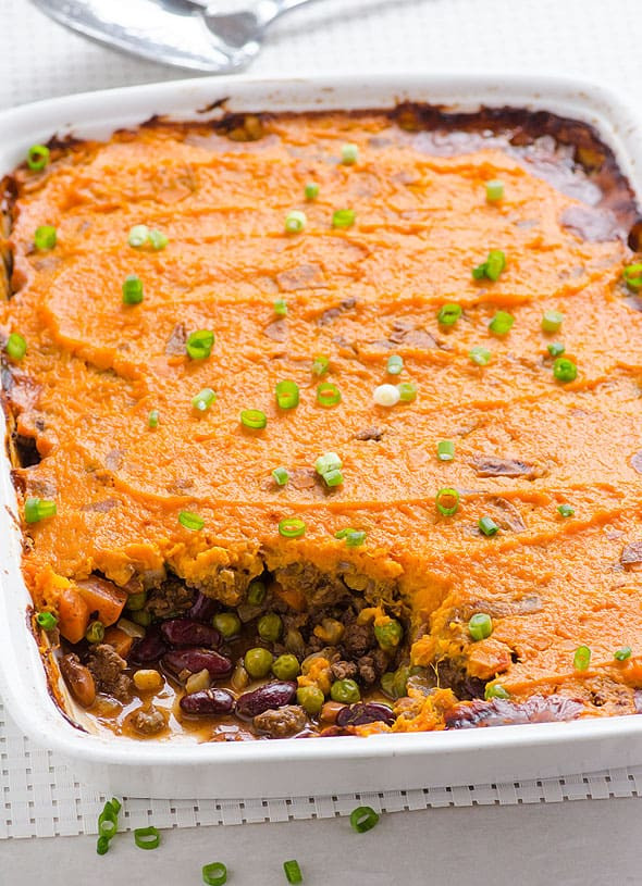 Healthy Shepherd'S Pie Recipe With Sweet Potato  Sweet Potato Shepherd s Pie iFOODreal
