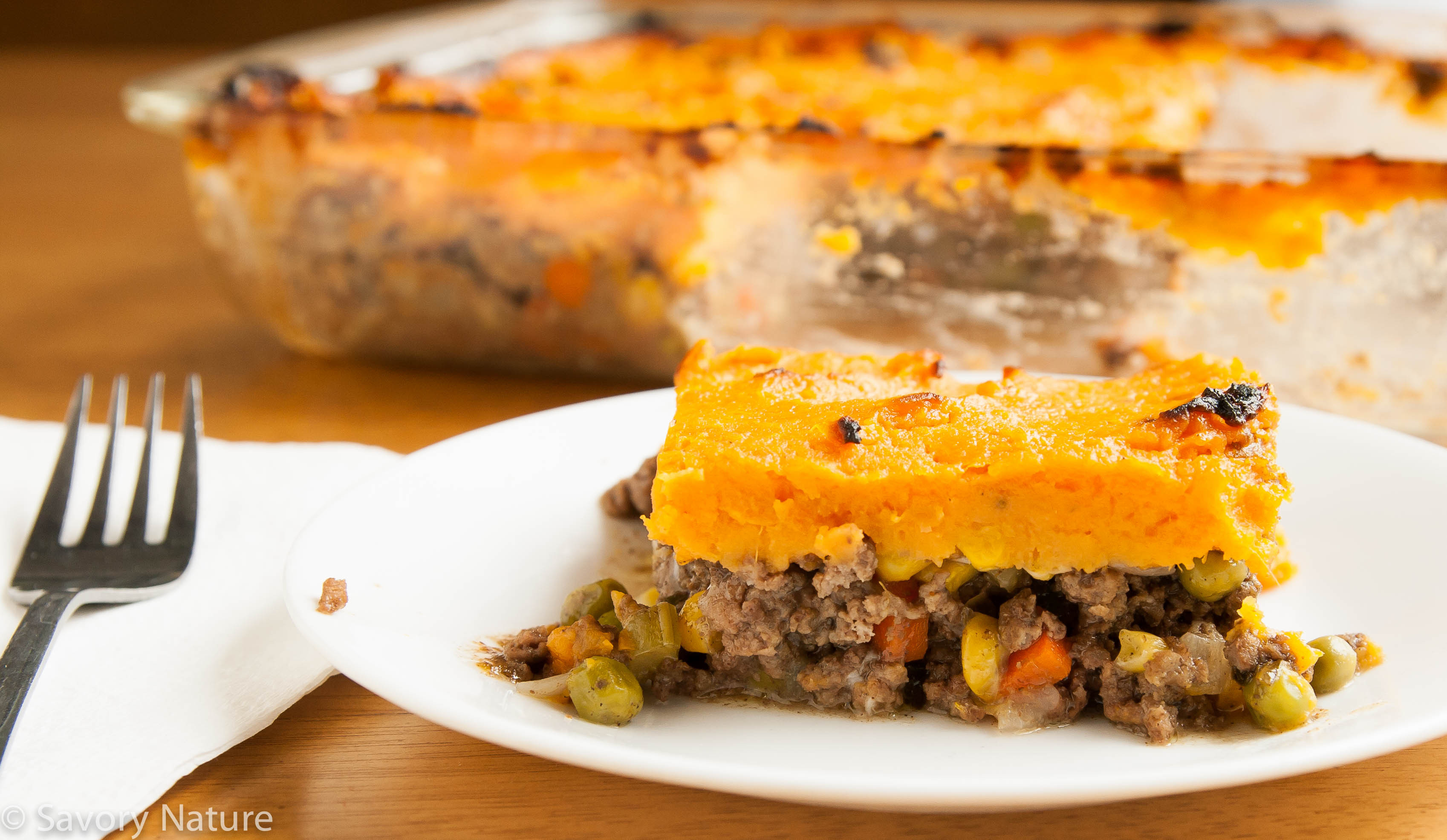 Healthy Shepherd'S Pie Recipe With Sweet Potato  healthy savoury sweet potato pie