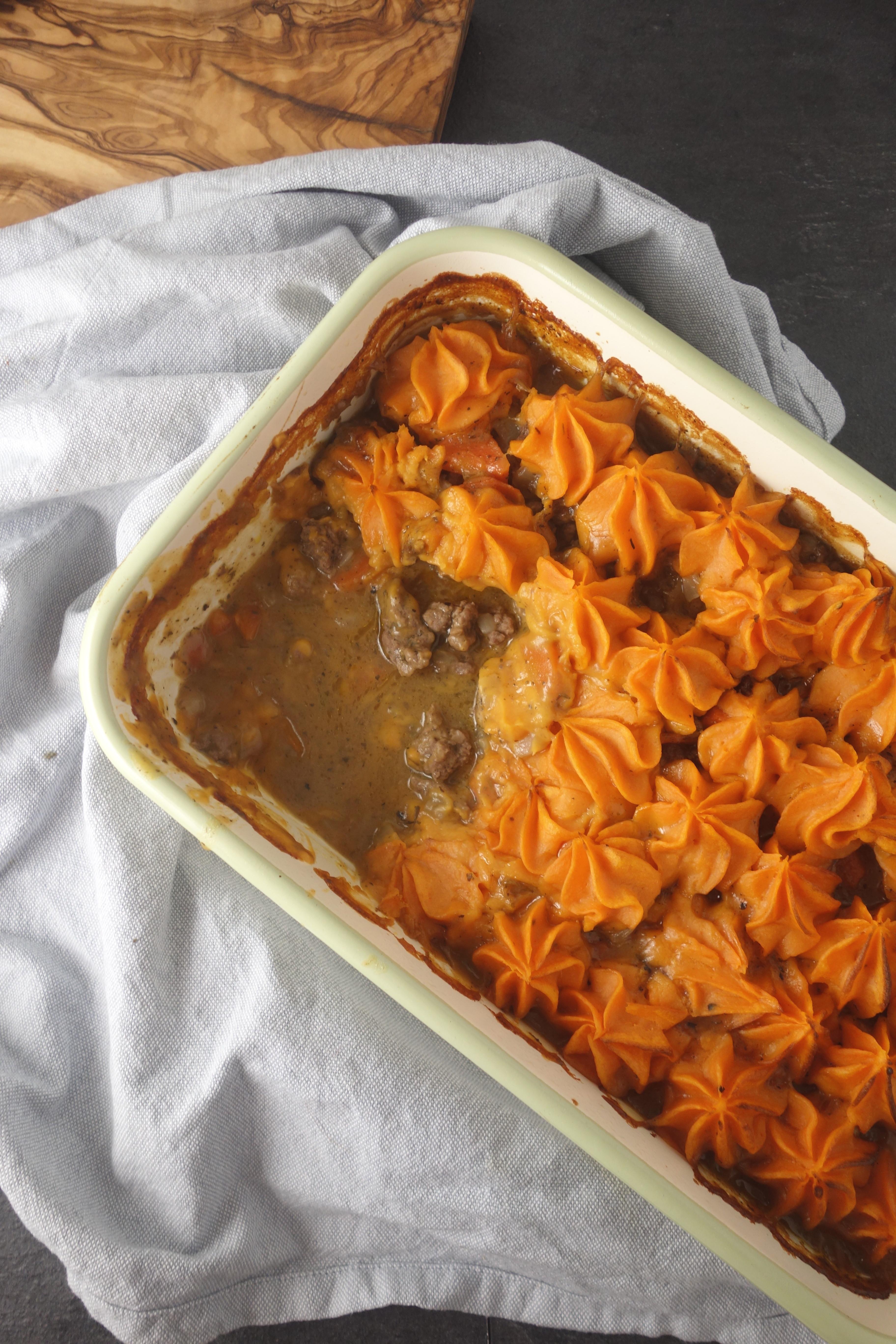 Healthy Shepherd'S Pie Recipe With Sweet Potato  Sweet Potato Venison Shepherd s Pie A Dash of Ginger