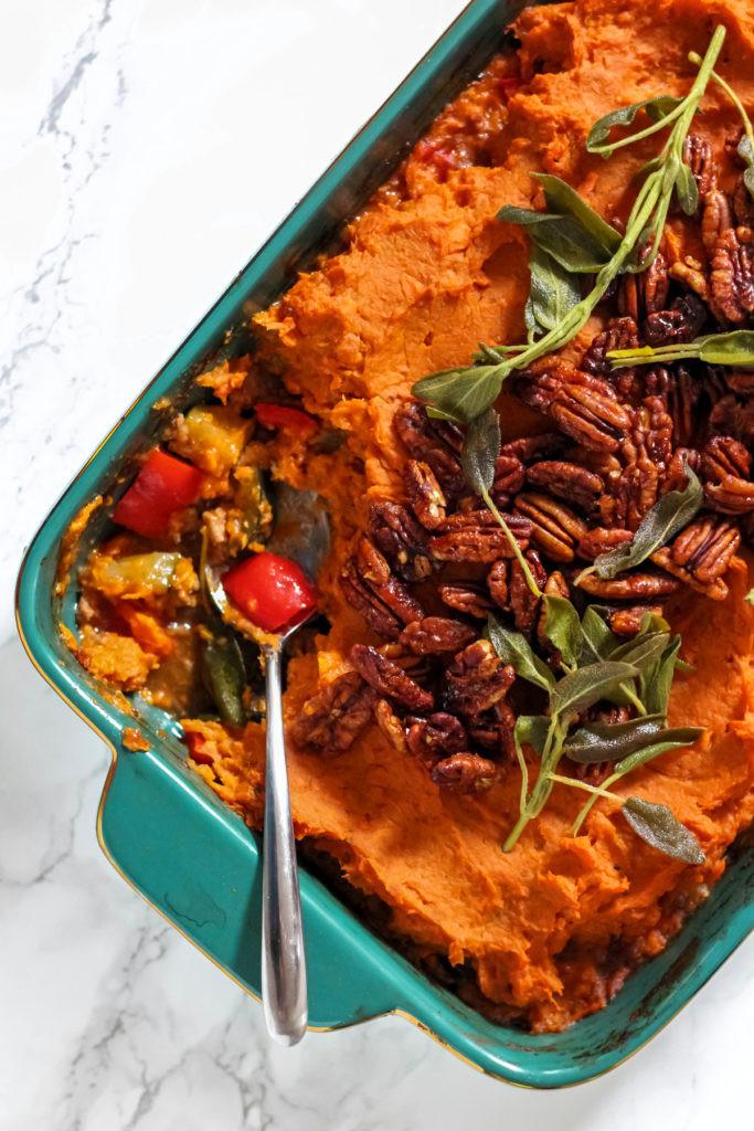 Healthy Shepherd'S Pie Recipe With Sweet Potato  ground turkey shepherd s pie