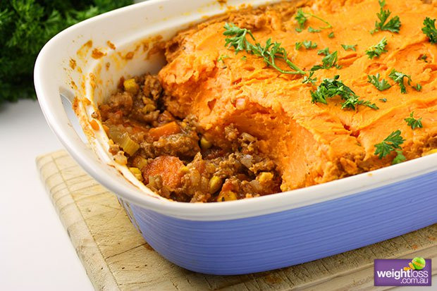 Healthy Shepherd'S Pie With Sweet Potato  Sweet Potato Shepherds Pie