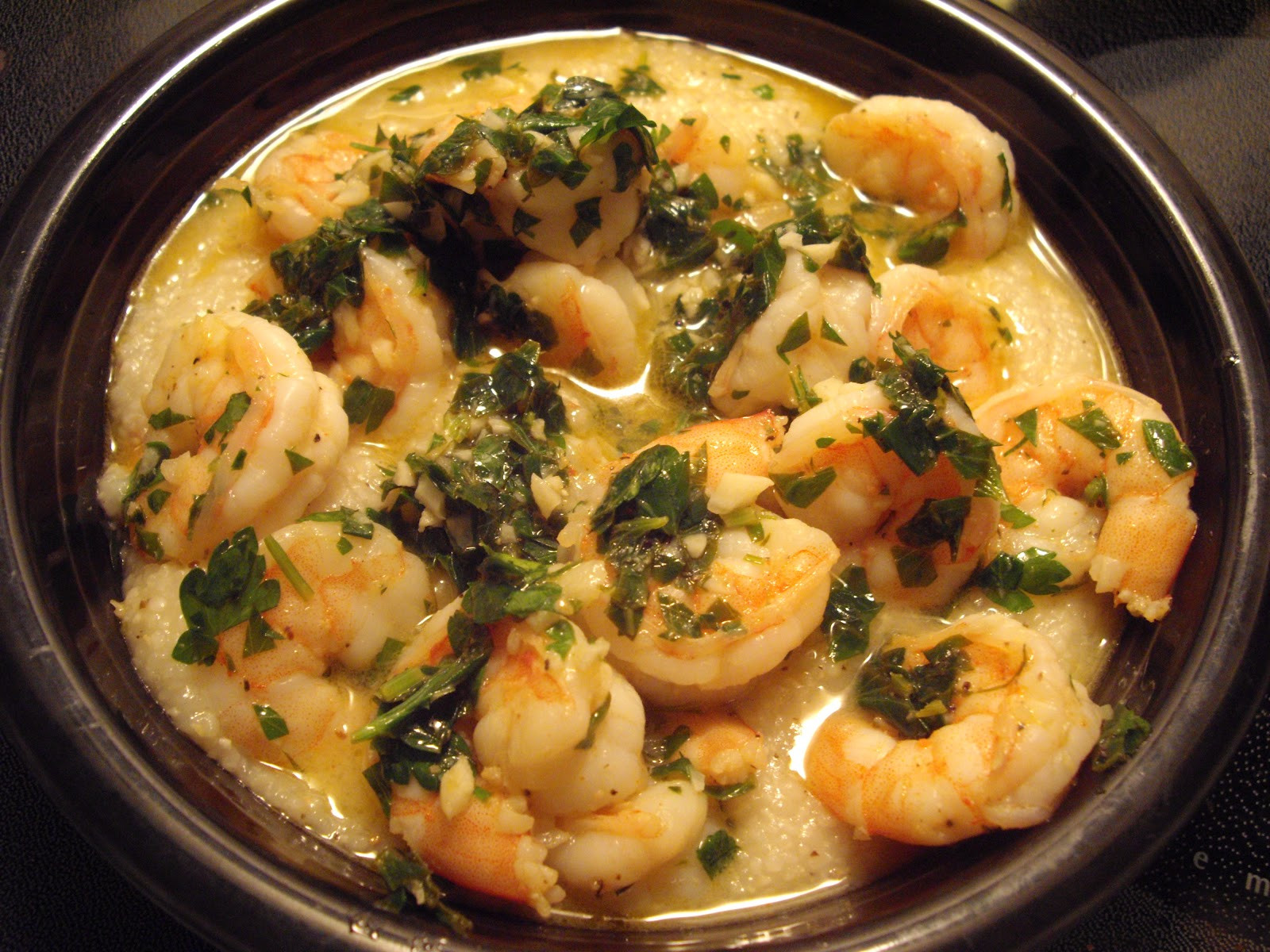 Healthy Shrimp And Grits Recipe  Lemon Garlic Shrimp and Grits