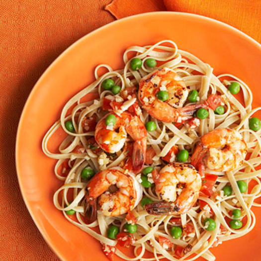 Healthy Shrimp And Pasta  Easy Healthy Pasta Recipes from FITNESS Magazine