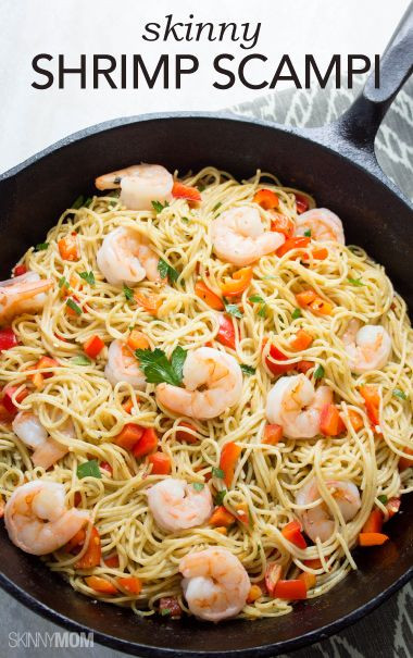 Healthy Shrimp And Pasta  25 best ideas about Healthy shrimp scampi on Pinterest