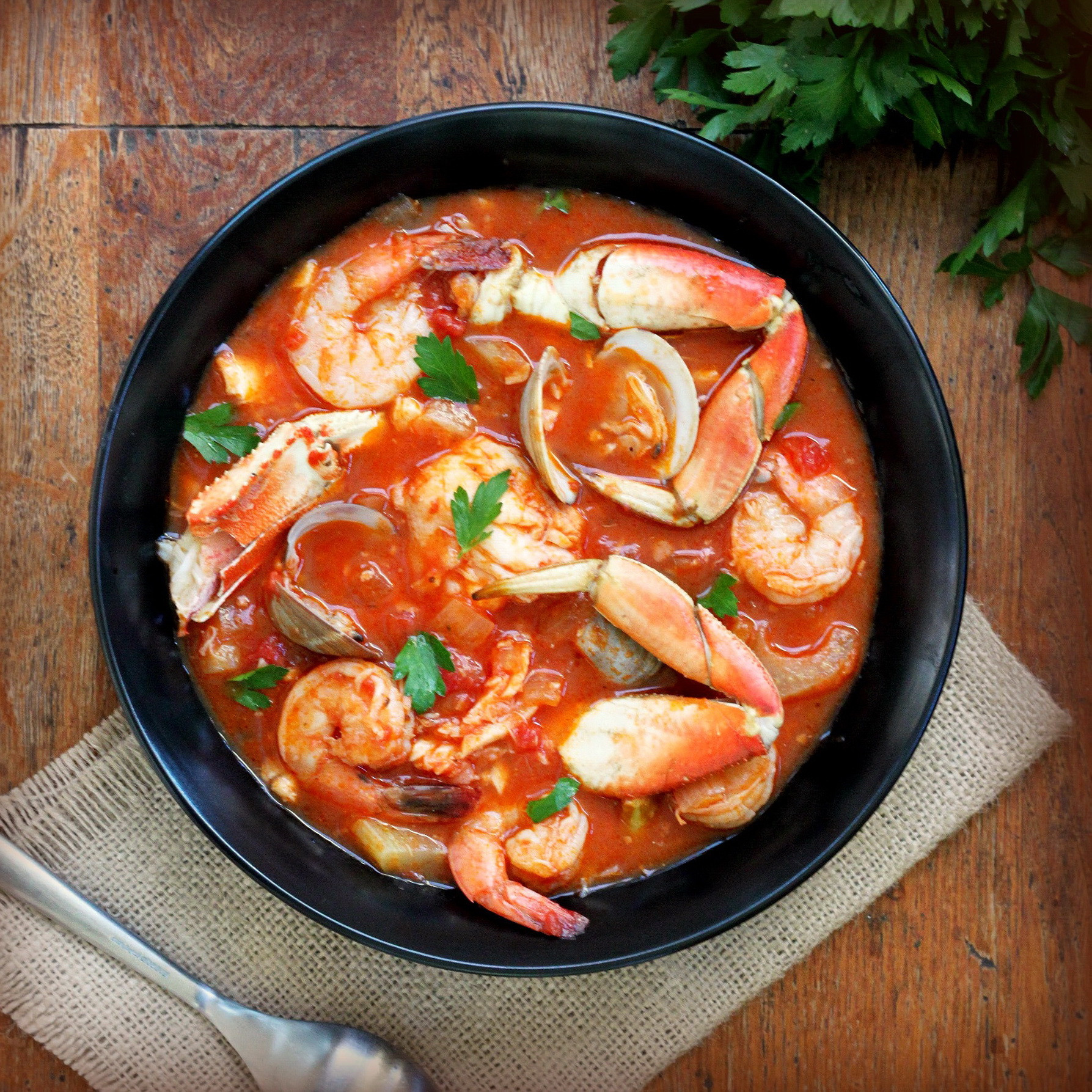 Healthy Shrimp Dinners  Seafood Stew with Italian Plum Tomato Paste – Healthy