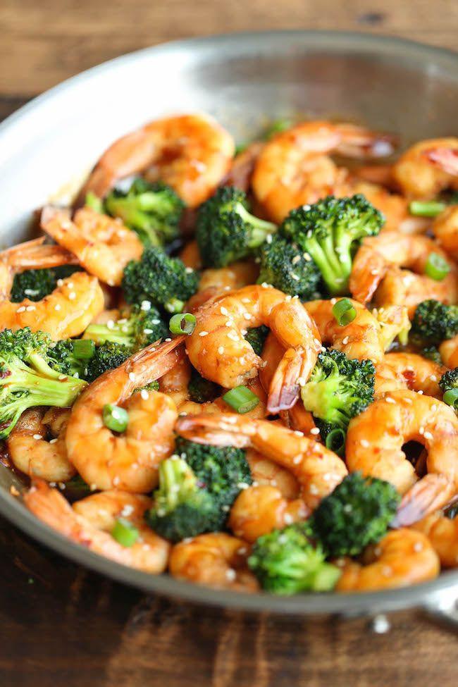 Healthy Shrimp Dinners  Easy Shrimp and Broccoli Stir Fry Recipe