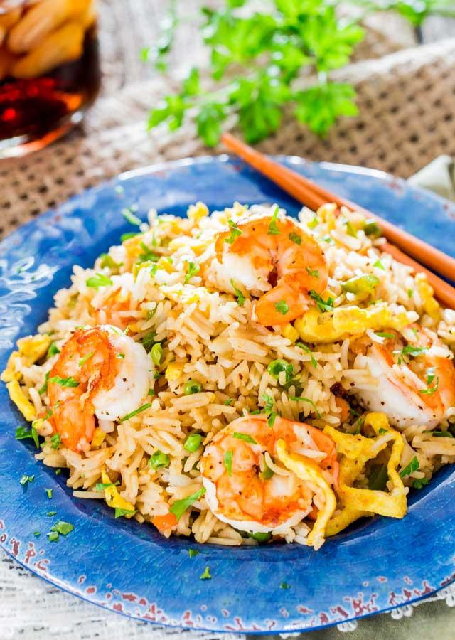 Healthy Shrimp Fried Rice  Easy Shrimp Fried Rice Jo Cooks
