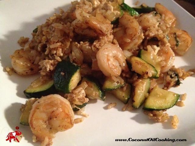 Healthy Shrimp Fried Rice  Healthy Shrimp Fried Rice