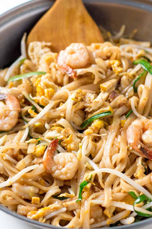 Healthy Shrimp Pad Thai Recipe  The Best Shrimp Pad Thai Recipe – LeelaLicious