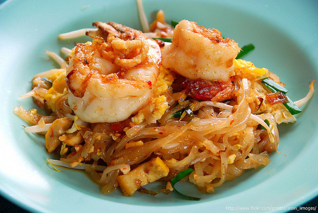 Healthy Shrimp Pad Thai Recipe  Shrimp Pad Thai Cheeseslave