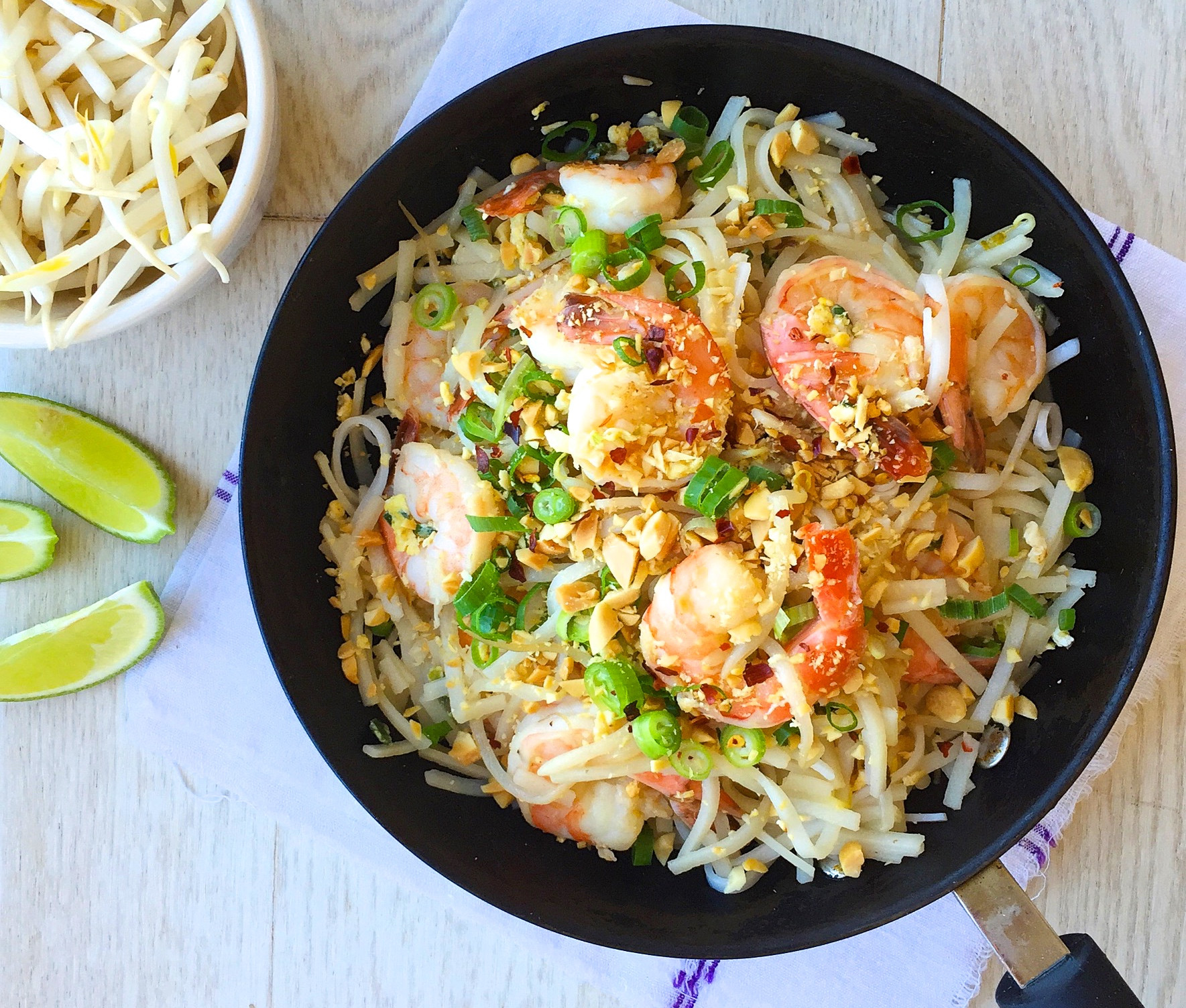 Healthy Shrimp Pad Thai Recipe  Best Easy Shrimp Pad Thai Recipe How to Make Easy Shrimp