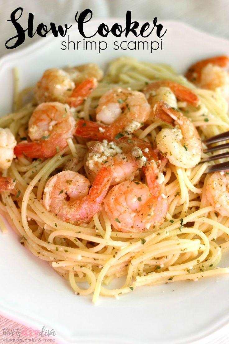 Healthy Shrimp Pasta Recipes Easy  100 Shrimp Scampi Recipes on Pinterest