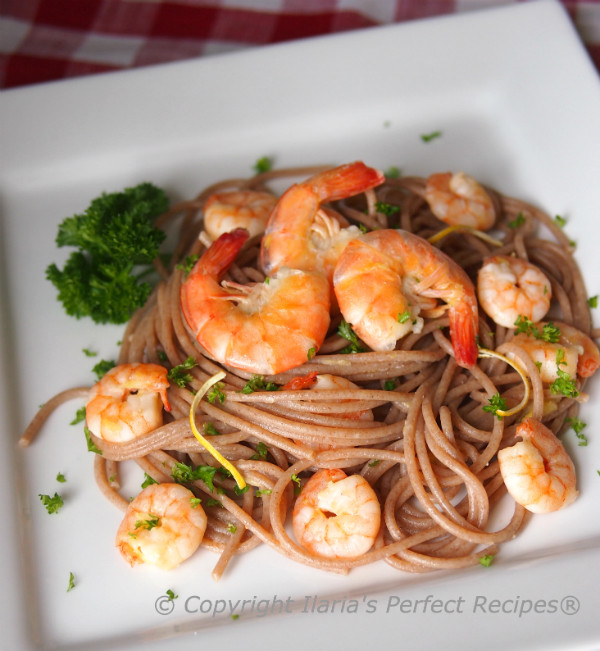 Healthy Shrimp Pasta Recipes Easy  3 Minutes Shrimp Pasta Sauce with Garlic and Lemon Zest
