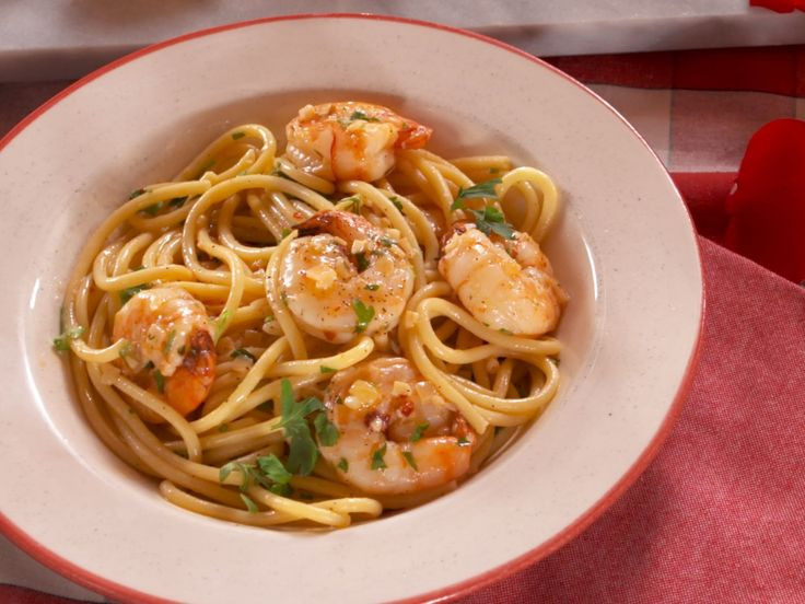 Healthy Shrimp Pasta Recipes Food Network  17 Best images about Food Main Dishes on Pinterest