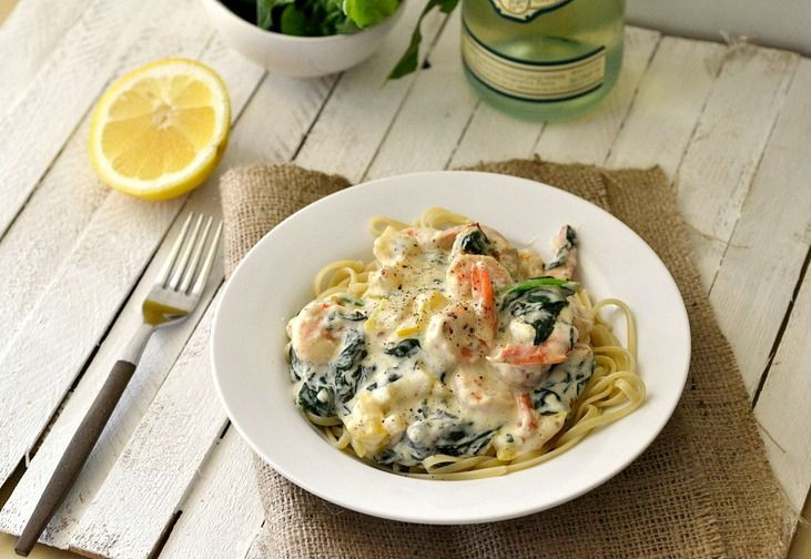 Healthy Shrimp Pasta Recipes Food Network  40 best Fish Seafood images on Pinterest