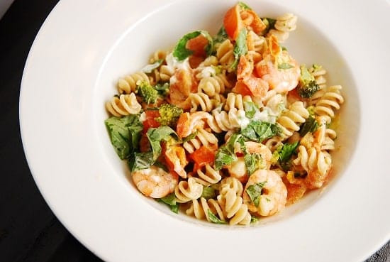 Healthy Shrimp Pasta Recipes Weight Watchers the top 20 Ideas About Shrimp and Goat Cheese Pasta Recipe – 6 Points Laaloosh