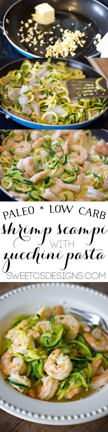 Healthy Shrimp Recipes Low Carb  Low Carb Paleo Shrimp Scampi Recipe