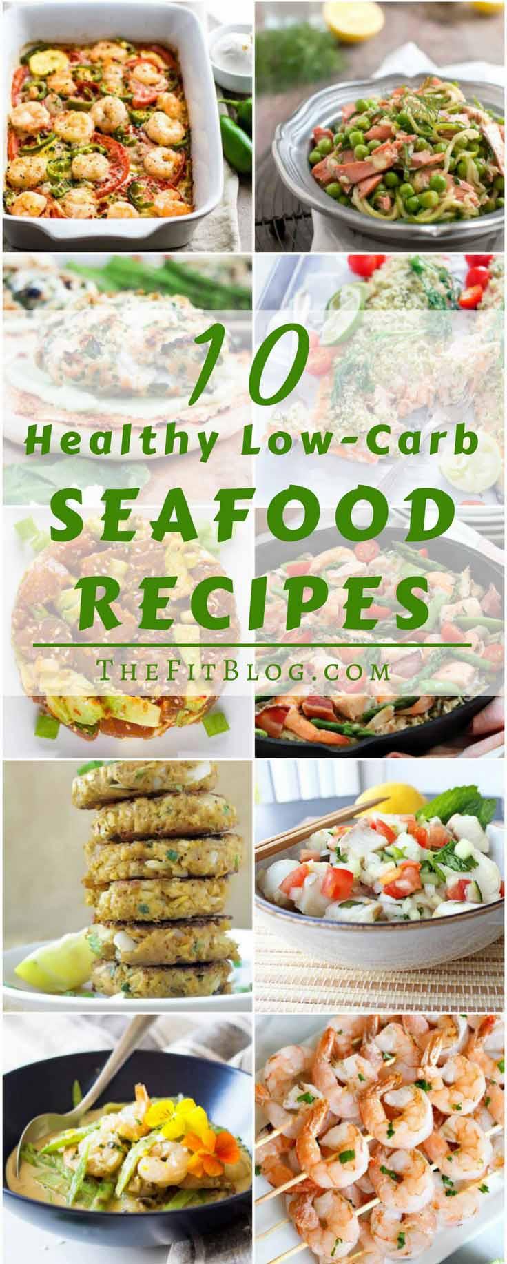 Healthy Shrimp Recipes Low Carb  10 Healthy Low Carb Seafood Recipes
