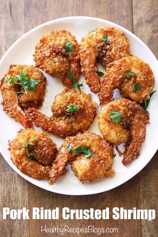 Healthy Shrimp Recipes Low Carb  Low Carb Breaded Shrimp Recipe Keto Fried Shrimp