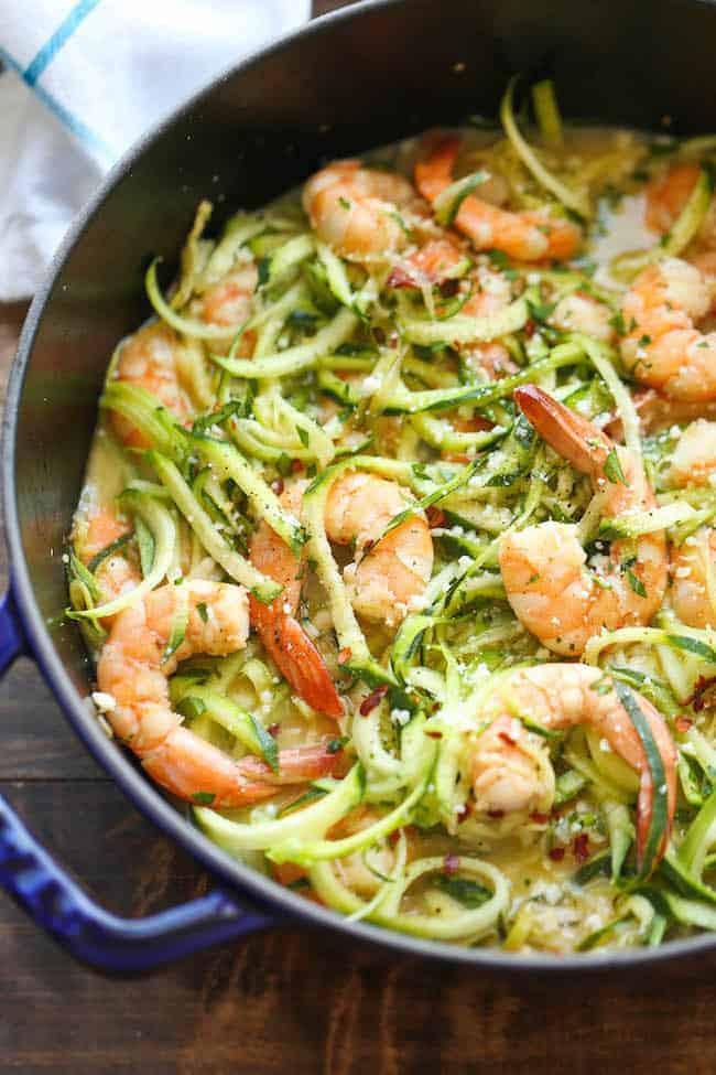 Healthy Shrimp Recipes Low Carb  50 Best Low Carb Pasta Recipes for 2018
