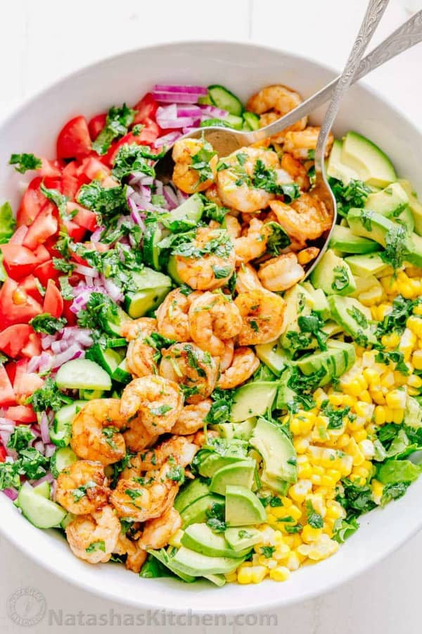 Healthy Shrimp Salad Recipes  The Best Healthy Salad Recipes You Will Love & Want to Make