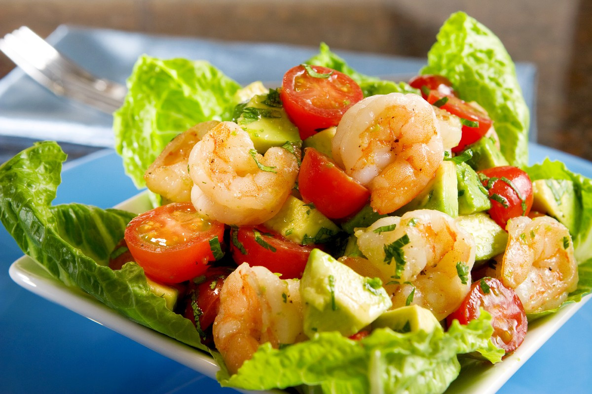 Healthy Shrimp Salad Recipes  18 Skinny Salads for a Low Calorie Meal