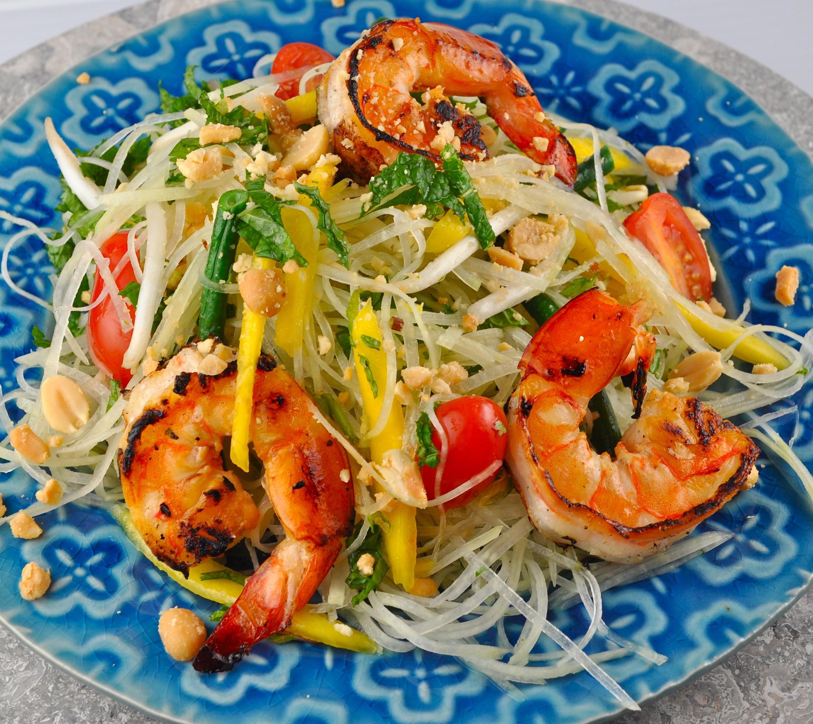 Healthy Shrimp Salad Recipes  Healthy shrimp green salad recipes Food salad recipes