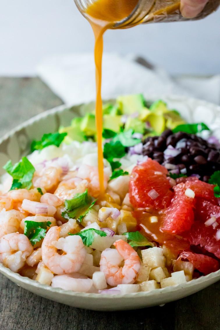 Healthy Shrimp Salad Recipes  mexican jicama shrimp salad Healthy Seasonal Recipes