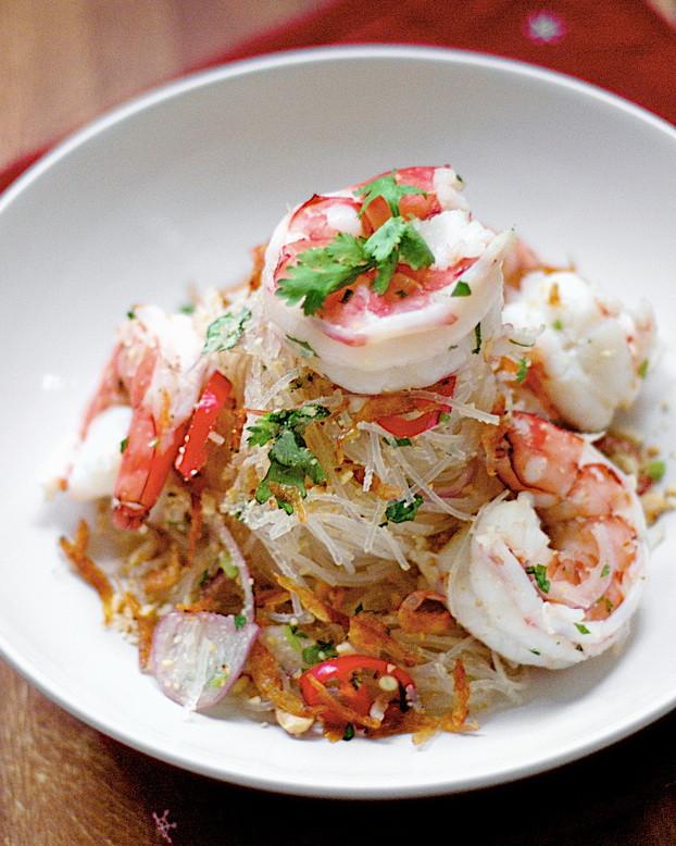 Healthy Shrimp Salad Recipes  Thai Noodle Shrimp Salad – Best Healthy Weight Loss Tip