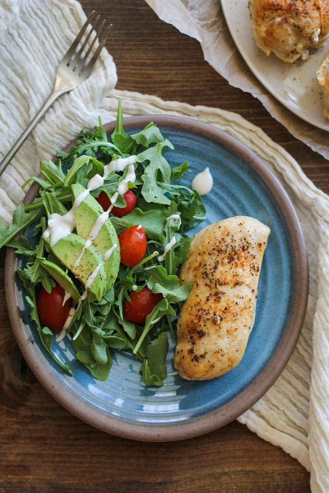 Healthy Side Dishes For Chicken  Easy Way to Cook Chicken on the Stove