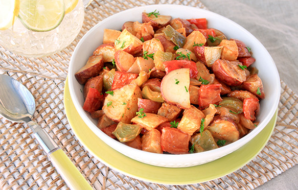 Healthy Side Dishes For Cookout  Healthy Cookout Side Dish Recipes Warm & Spicy BBQ Potato