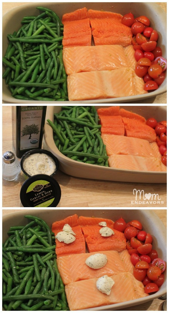 Healthy Side Dishes For Dinner  Quick & Healthy Recipe e Pan Baked Salmon & Ve ables