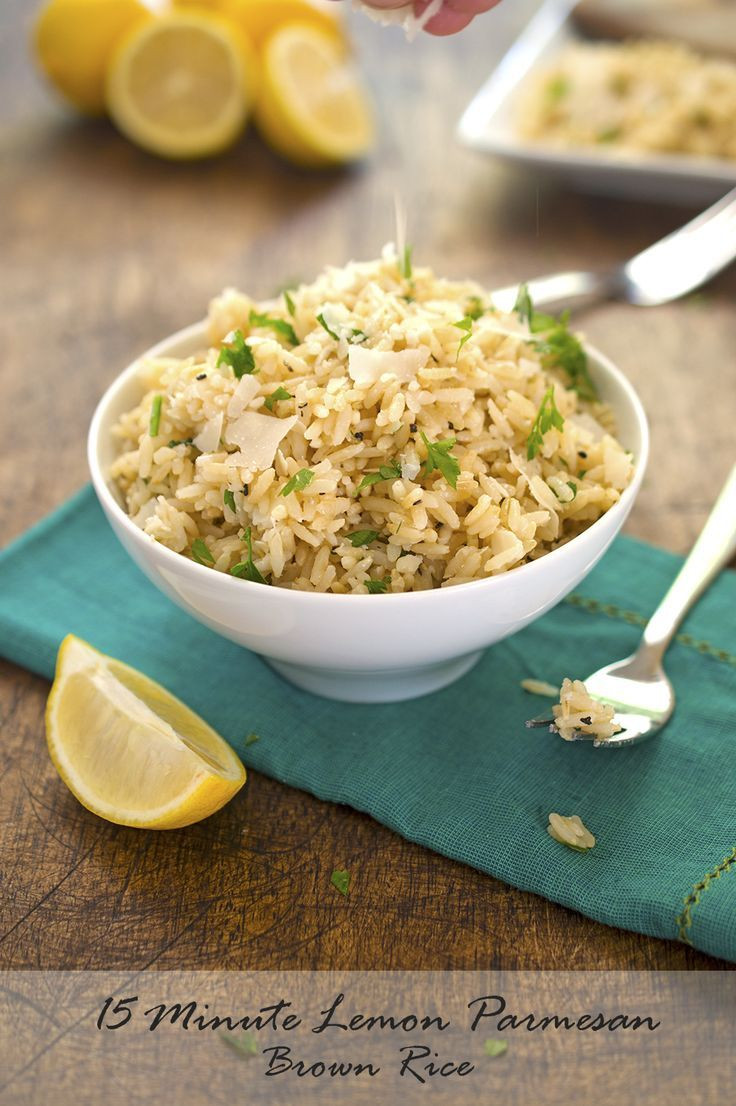 Healthy Side Dishes For Dinner  Best 25 Healthy brown rice recipes ideas on Pinterest