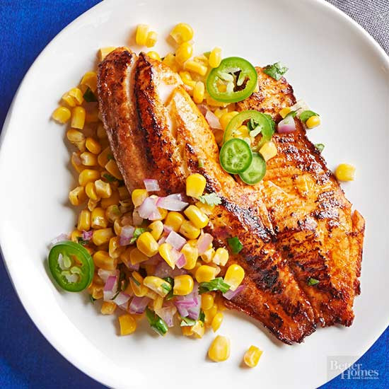 Healthy Side Dishes For Fish  Healthy Fish Recipes