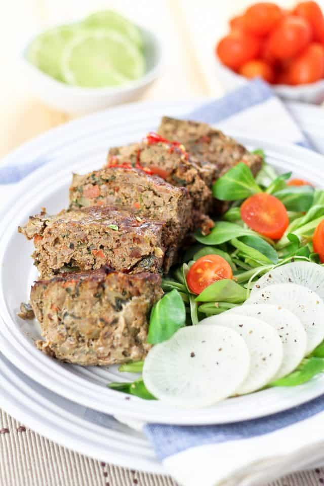 Healthy Side Dishes For Meatloaf  Ve able Overload Individual Meatloaves Another great