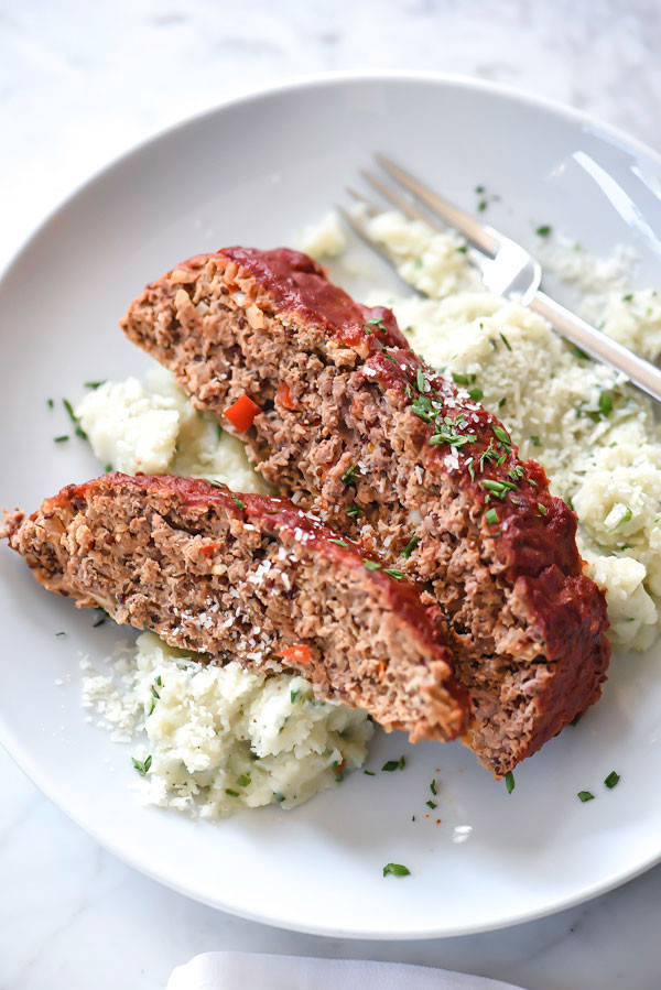 Healthy Side Dishes For Meatloaf  A Healthier Meatloaf With Tomato Glaze