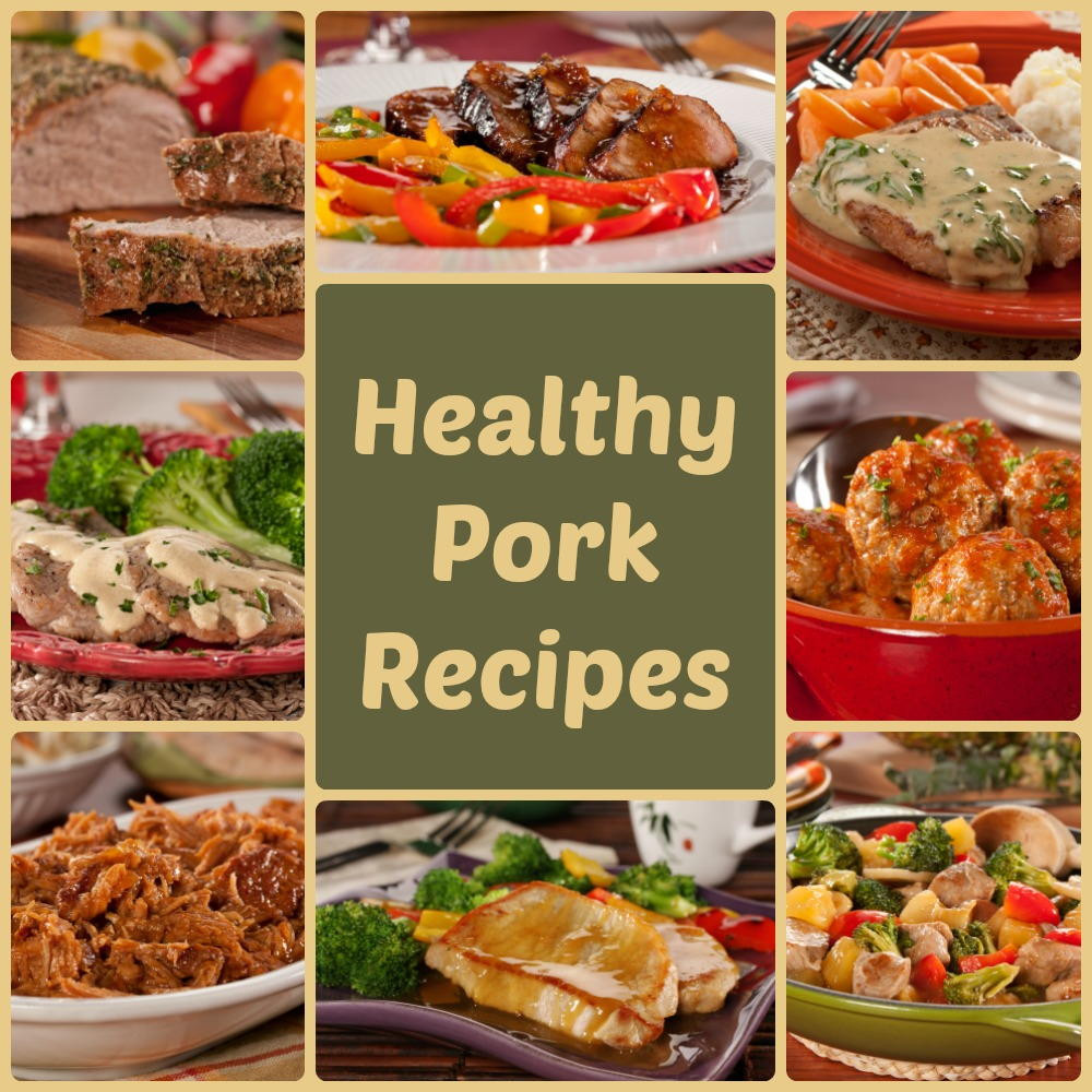Healthy Side Dishes For Pulled Pork  Pork Loin Pork Chops and Pulled Pork 8 Healthy Pork