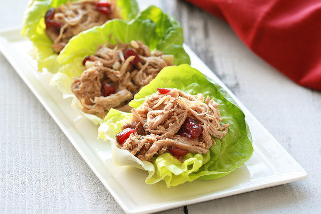 Healthy Side Dishes For Pulled Pork  Healthy Holiday Recipe Slow Cooker Cranberry Pork