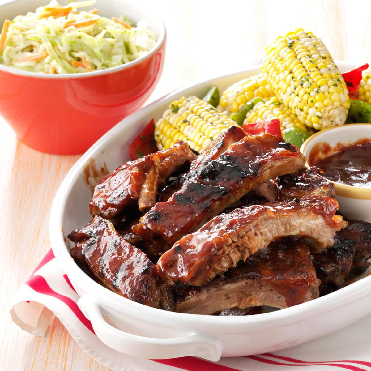 Healthy Side Dishes For Ribs  Honey Beer Braised Ribs Recipe