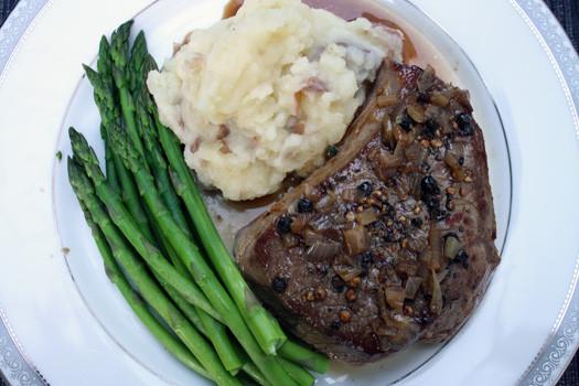 Healthy Side Dishes For Steak  Bistro Classics Steak au Poivre